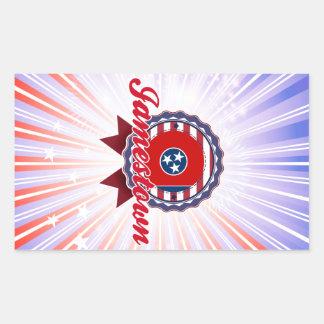 Jamestown, TN Rectangle Stickers