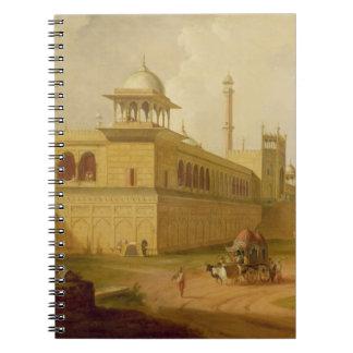Jami Masjid, Delhi, 1811 (oil on canvas) Notebook