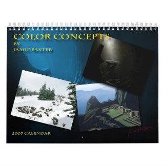 Jamie Baxter concept Calendar