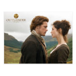 Jamie & Claire face to face photograph Postcard