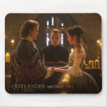 Jamie & Claire's wedding photograph Mouse Pad