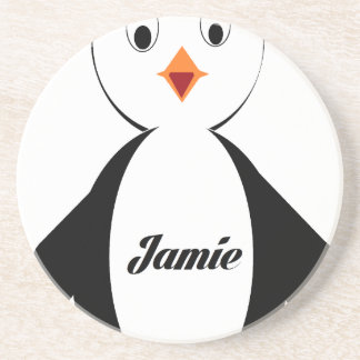 Jamie Penguin Coaster