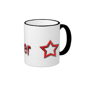 Jammer Red Ringer Mug