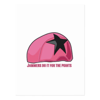 Jammers Do It For The Point Postcard