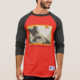 Jammin Revolution Red black Sleeve T-Shirt