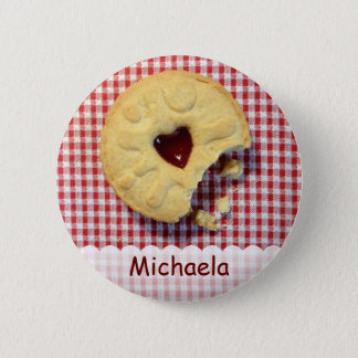 Jammy Dodger 6 Cm Round Badge