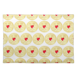 Jammy Dodger Biscuit Illustration Placemat