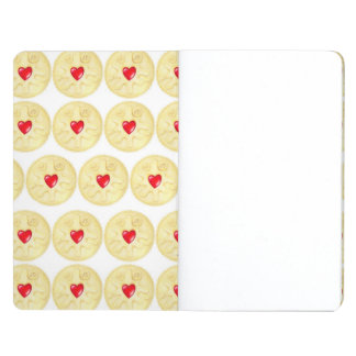 Jammy Dodger Biscuit Illustration Pocket Journal