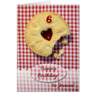 Jammy Dodger Card