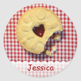 Jammy Dodger Party Sticker