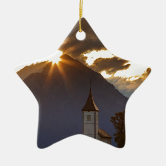Jamnik church of Saints Primus and Felician Christmas Ornament