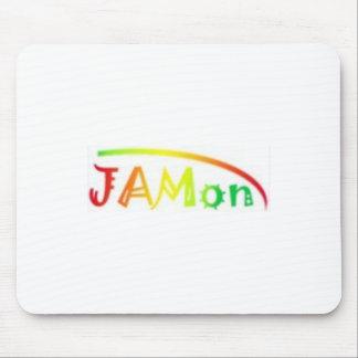 jamon white mouse pad