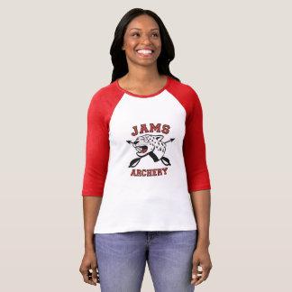 JAMS Archery Logo raglan T-Shirt