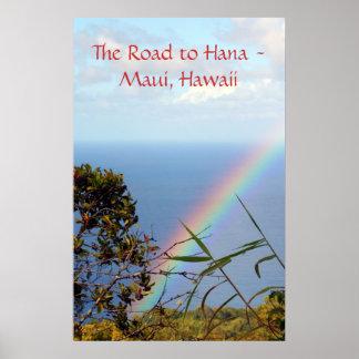 Jan07 2081, The Road to Hana - Maui, Hawaii Poster
