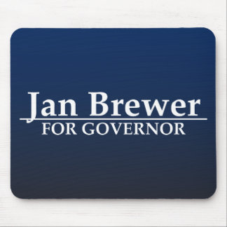 Jan Brewer for Governor Mouse Pad