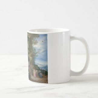 Jan Brueghel the Elder - The Sermon on the Mount Basic White Mug