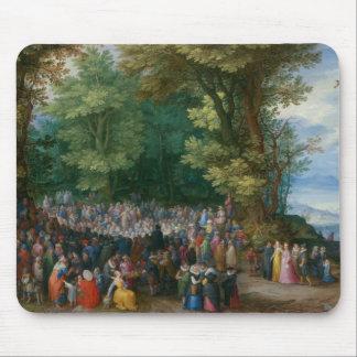 Jan Brueghel the Elder - The Sermon on the Mount Mouse Pad