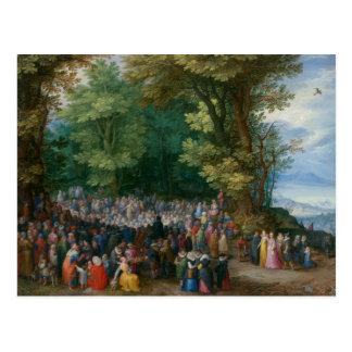 Jan Brueghel the Elder - The Sermon on the Mount Postcard