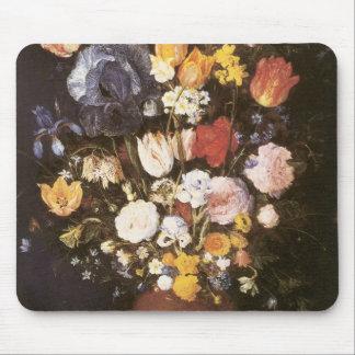 Jan Brueghel the Elder Vase Of Flowers Mouse Pad