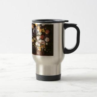 Jan Brueghel the Elder Vase Of Flowers Stainless Steel Travel Mug
