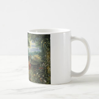 Jan Brueghel the Younger - An Allegory of Water Basic White Mug