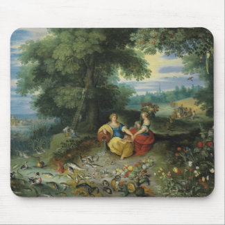 Jan Brueghel the Younger - An Allegory of Water Mouse Pad
