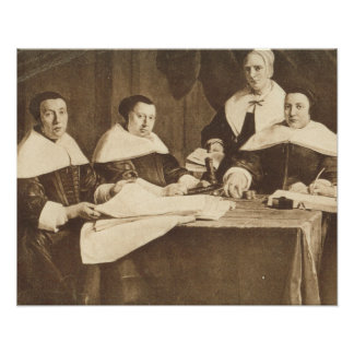 Jan de Braij, Regentes de l'Hospice des Enfants Print