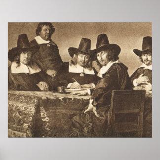 Jan de Braij, Regents de l'Hospice des Enfants Poster