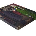 Jan Eyck- The Arnolfini Wedding Gallery Wrapped Canvas