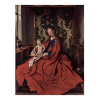 Jan Eyck- The Ince Hall Madonna Postcard