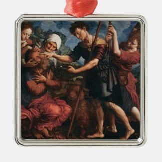 Jan Hemessen- Tobias Restores his Father's Sight Christmas Ornament