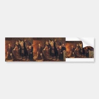 Jan Matejko- Alchemist Sendivogius Bumper Stickers