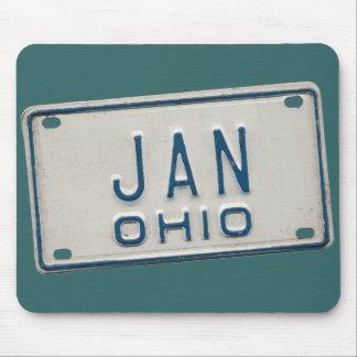 Jan Ohio Mouse Pad