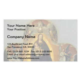 Jan Provoost- The Virgin Mary in Glory Pack Of Standard Business Cards