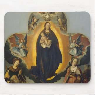 Jan Provoost- The Virgin Mary in Glory Mouse Pads