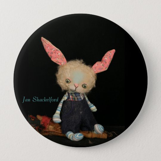 Jan Shackelford Button McAvoy Bunny