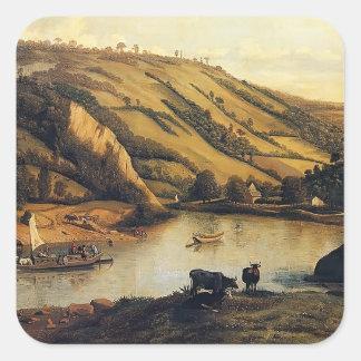 Jan Siberechts- An Extensive With Drovers & Cattle Sticker