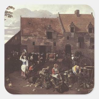 Jan Siberechts- The Market Garden Stickers