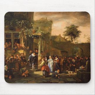 Jan Steen- A Village Wedding Mousepads