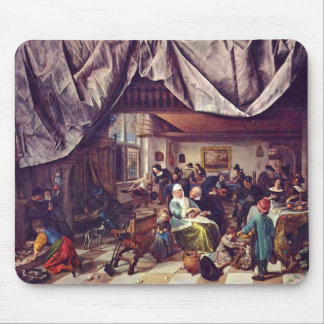 Jan Steen- Life of Man Mouse Pads