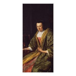 Jan Steen- Portrait of Geertruy Gael Custom Rack Cards
