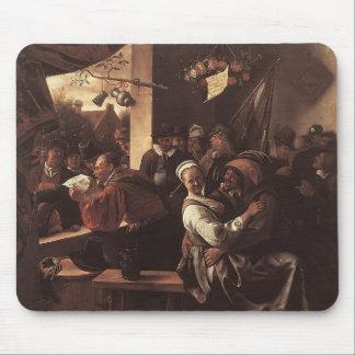Jan Steen- Rhetoricians Mouse Pads