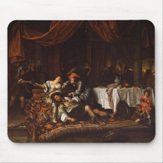 Jan Steen- Samson and Delilah Mouse Pads