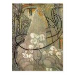Jan Thorn-Prikker: Die Braut, 18921893 Oil on canv Postcard