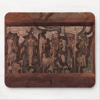 Jan Toorop- Song of the Times Mousepad