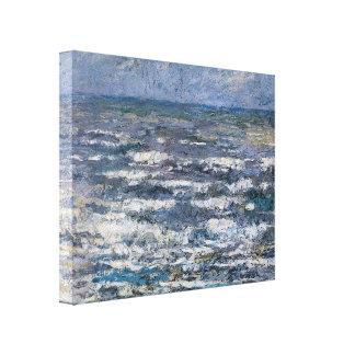 Jan Toorop- The Sea at Katwijk Gallery Wrap Canvas