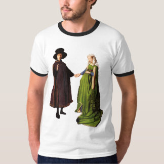 Jan van Eyck: Arnolfini Wedding Portrait T-shirt