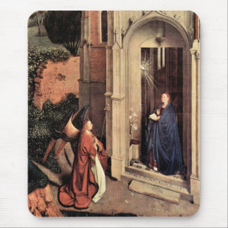 Jan Van Eyck - Proclamation Mouse Pad