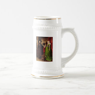Jan Van Eyck Protrait of Giovannit Arnofini Wife Coffee Mugs