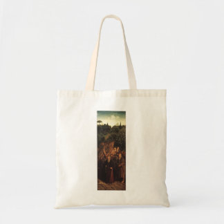 Jan van Eyck- The Ghent Altar (detail) Canvas Bags